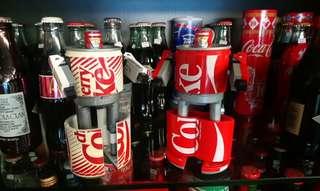可口可樂機械人 2 個
