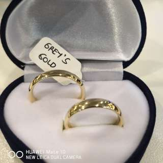 Wedding Ring 18karat Saudi Gold