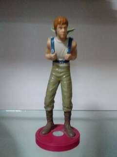 Luke Skywalker with Yoda