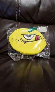 全新 Sweet Monster LEMON Coin Purse 散紙包 Beauty Puuch 化妝袋