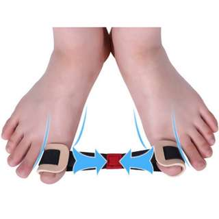 Footlogix Elasticity Corrector Hallux Valgus Belt Elastic Toe Separator Big Toe Bunion Recovery Salon Foot