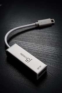 J5CREATE JCA140 USB TYPE-C to 4K DP ADAPTER