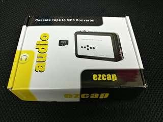 Ezcap cassette to MP3 converter 錄音帶轉MP3
