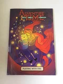 OFFICIAL Adventure Time Playing With Fire Comic