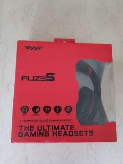 Armaggeddon Fuze 5 7.1 Surround Sound Gaming Headset