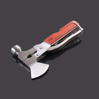 Multi-function Hammer Axe Knife Pliers 多功能组合工具锤斧头刀钳#478