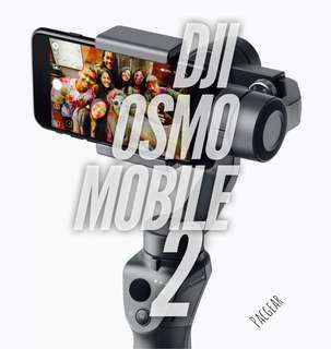 DJI Osmo Mobile 2 Smartphone GoPro Gimbal fits iPhone X Note 8 Huawei, Oppo, Oneplus Flagship Phones