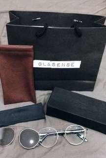🚚 Glasense 眼鏡+墨鏡 GSH-028