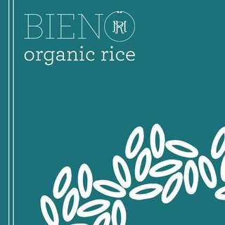 BIENO Organic White Rice (25 KG)