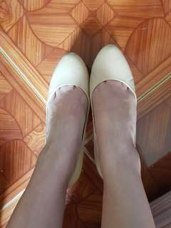 Staccato Nude Pumps Size 37 or Size 6