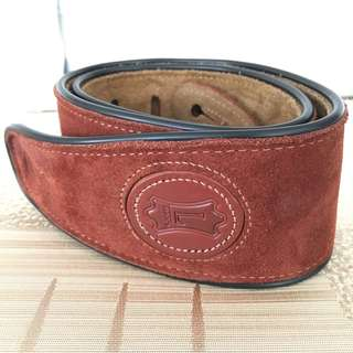 Leather Guitar Strap (genuine high quality leather)
