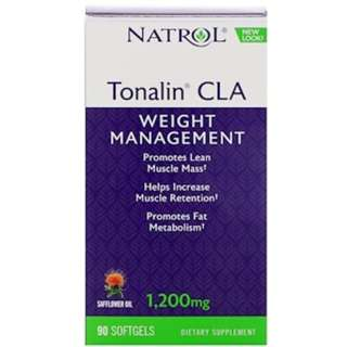 Natrol, Tonalin CLA, Safflower Oil, 1200 mg, 90 Softgels