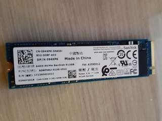 A400 NVMe SanDisk 512GB SSD