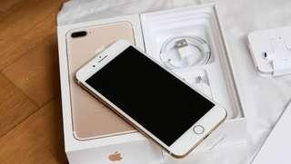 Iphone 7+ 128GB Gold Bisa Kredit Gan