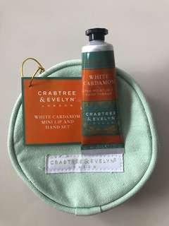 Crabtree & Evelyn Hand Therapy with pouch