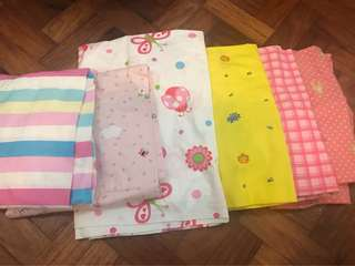 Take All OWEN Brand 100% Cotton Bed Sheet for Baby Crib