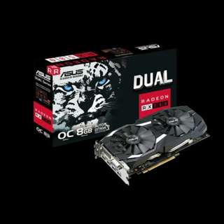 ASUS RX580 OC Edition 8gb