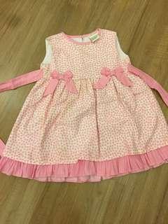 Laura Ashley Pink Small Hearts dress