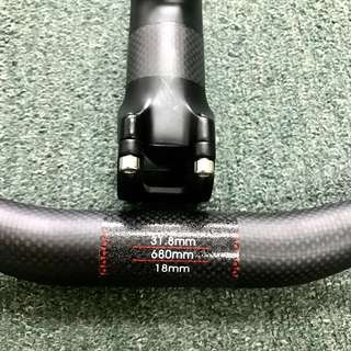 Carbon fiber Handlebar and stem