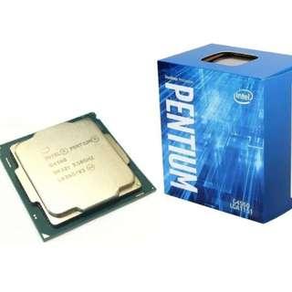 Intel G4560 Pentium CPU