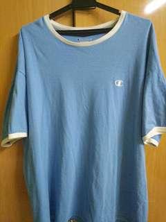 Champion Blue Shirt