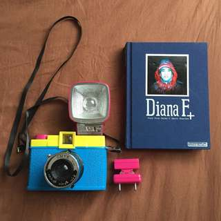 Diana F+ Camera & Flash (CMYK Edition) + Book