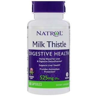In Stock Natrol, Milk Thistle , 525 mg, 60 Capsules