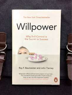 # Highly Recommended《Good Condition Preloved Paperback + Rediscovering Our Greatest Strength》Roy F. Baumeister & John Tierney - WILLPOWER : Why Self-Power Is The Secret To Success