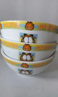 Garfield bowl set