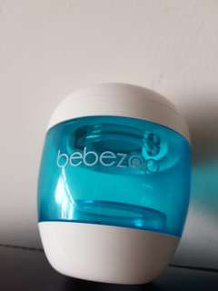 Bebezap portable UV steralizer for bottles.soother.teats