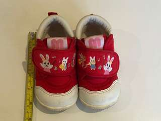 Mikihouse fabric shoes for toddler