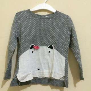 H&M Bear Sweater