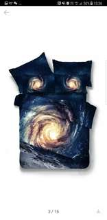 Galaxy Blue bedsheets set