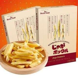 日本採購 關西空港 機場伴手禮系列 北海道薯條三兄弟 $380元/10包入 總數最多只收10盒 太爆炸就拆盒 接受再下