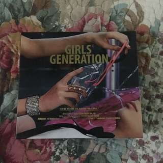 GIRLS GENERATION 4th MINI ALBUM MR MR