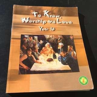 Year 10 Religion Textbook