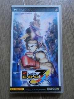 Street Fighter Zero 3, Sony PSP, good condition