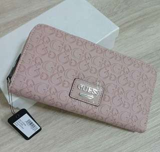 AUTHENTIC GUESS Lucio SLG Zip around wallet