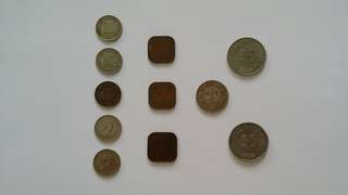Old Malaya & Singapore Coins