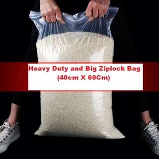 Heavy Dutyand Big Ziplock Bag (40cm X 60Cm).