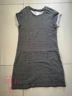 Pre-loved Gray Casual Dress