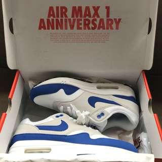 Air Max 1 OG Royal 30th Anniversary (2017)