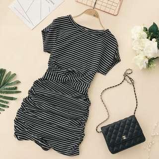 Stripes Casual Dress