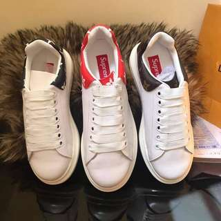 Authentic branded sneakers