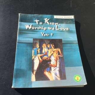 Year 9 Religion Textbook