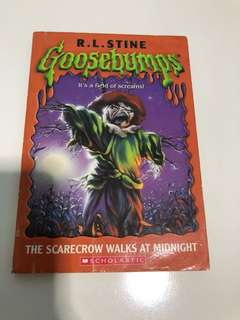 The Scarecrow Walks at Midnight by RL Stine