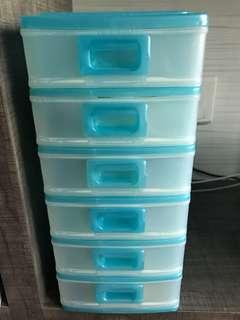 Mini Plastic Drawers / Accessories Storage / Toolbox