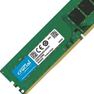 Crucial 4GB DDR$ RAM DESKTOP