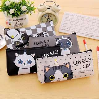 Tempat Pensil Lovely Cat