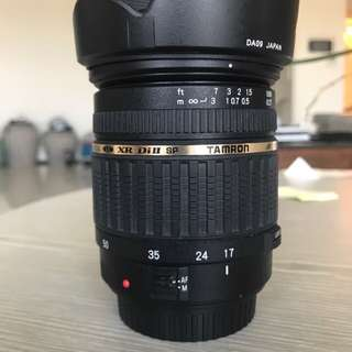 🚚 Tamron 17-50 f/2.8 lens (for Canon DSLR)